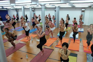 The new studio at Manchester's Bikram yoga centre